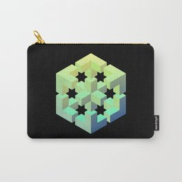 Exploded cube Carry-All Pouch
