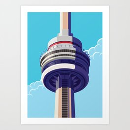 CN Tower - Toronto Art Print