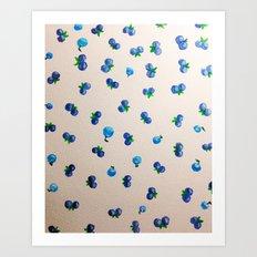 Imagine Berries Art Print