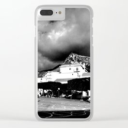 URBAN LANDSCAPE IN ITALY Clear iPhone Case