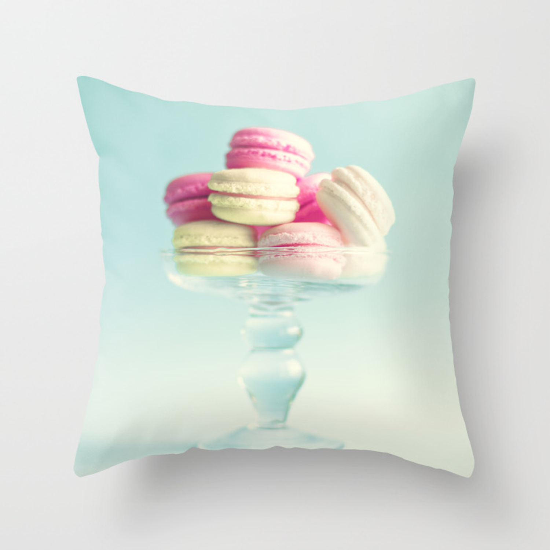 Macarons Macaroons Pop Art Ii Throw Pillow By Andreka Society6