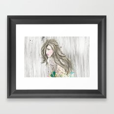 women_colors Framed Art Print