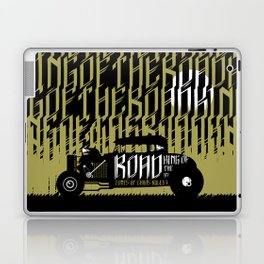 Signs of Faith - King of the Road Laptop & iPad Skin