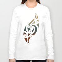 maori Long Sleeve T-shirts featuring Maori Style by Lonica Photography & Poly Designs
