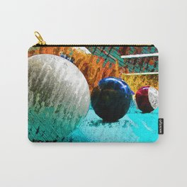 Billiards art print work 12 Carry-All Pouch
