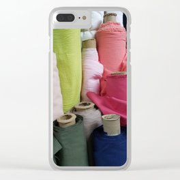 Bolt-Sorbet Clear iPhone Case