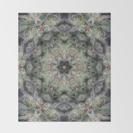 Crystal Wheel Throw Blanket