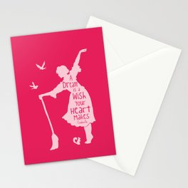 A Dream is a Wish Your Heart Makes - Cinderella Stationery Cards