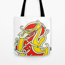 Viking Dragon of Infinite Warmth Tote Bag