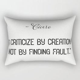 Cicero quote 1 Rectangular Pillow