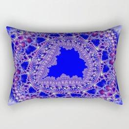 Fractal Fretwork Rectangular Pillow
