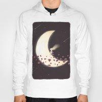 lunar Hoodies featuring Lunar Child by Annisa Tiara Utami