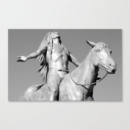 Appeal to the Great Spirit - Boston Canvas Print