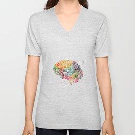 Circuit Brain Unisex V-Neck