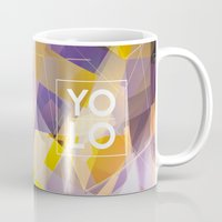 sayings Mugs featuring Dreams of YOLO Vol.1 by HappyMelvin
