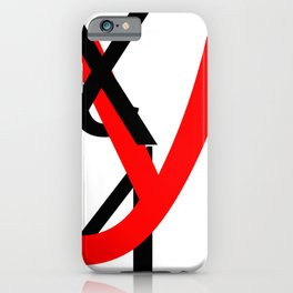 XYZ iPhone Case