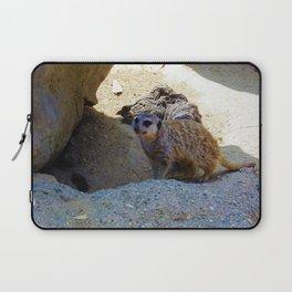 Meerkat saying Hello Laptop Sleeve