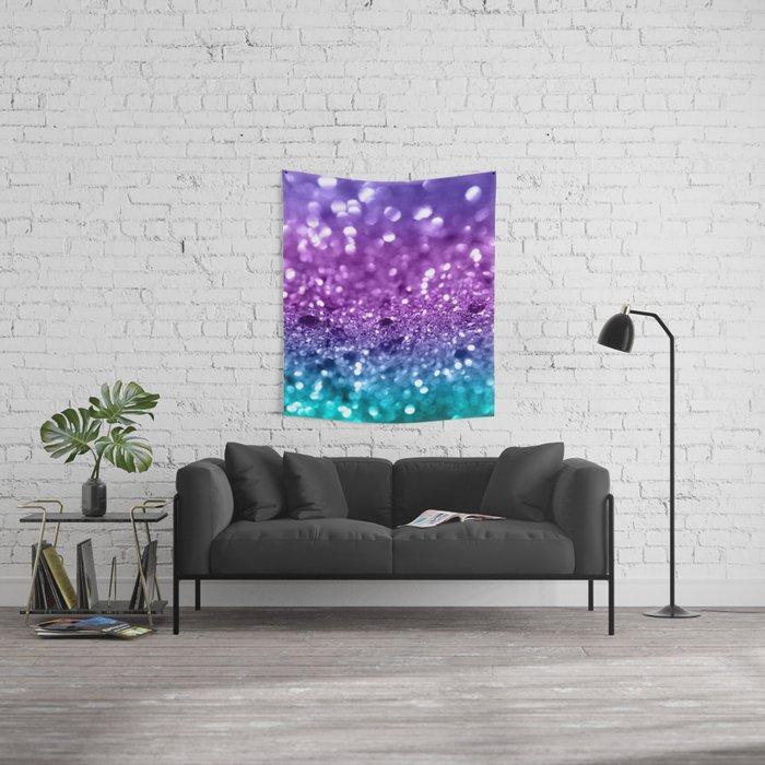 Unicorn Girls Glitter #19 #shiny #decor #art #society6 Wall Tapestry