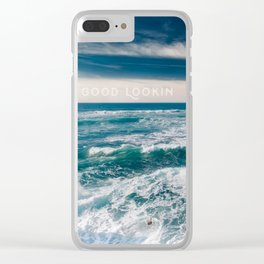 Sunset Cliffs San Diego Clear iPhone Case