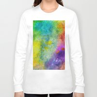 poop Long Sleeve T-shirts featuring Unicorn Poop by Andrea Gingerich