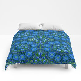 Peacock Pattern Comforters