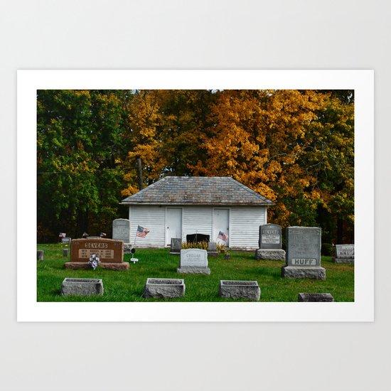 Alexandria Cemetery  Art Print