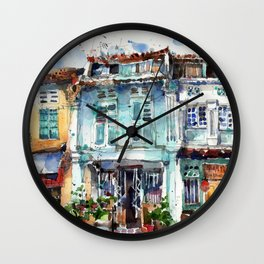 Clive Street, Little India, Singapore Wall Clock