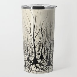 Pyramidal Neuron Forest Travel Mug
