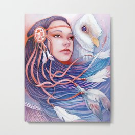 The Dreamwalker's Dawn Metal Print