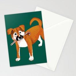 Puppy Chritsmas Stationery Cards