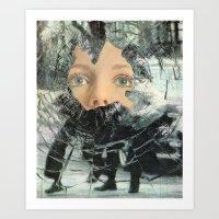 anarchy Art Prints featuring Anarchy by Cyrus Kiani