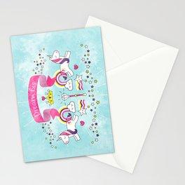 Dream Big Unicorn Carousel Stationery Cards