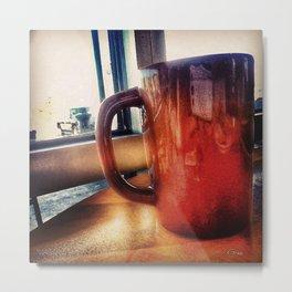 Coffee Please! Metal Print