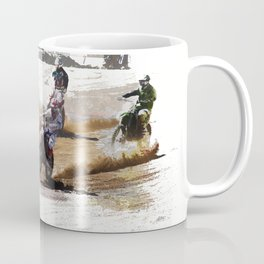 Starting Strong! - Motocross Racers Coffee Mug