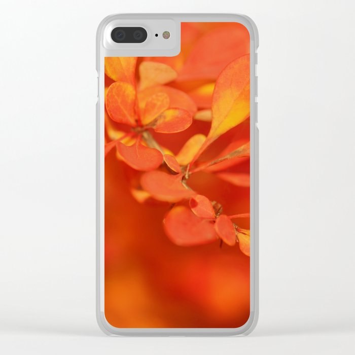 Autumn 253 Clear iPhone Case