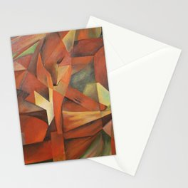 Foxes - Homage to Franz Marc (1913) Stationery Cards