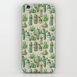 Salty Cacti iPhone Skin