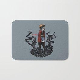 The Grunge Bath Mat