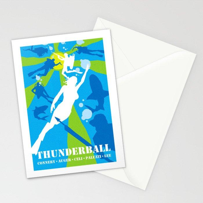 James Bond Golden Era Series :: Thunderball Stationery Cards