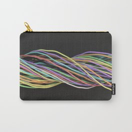 Twisted colorful wires Carry-All Pouch
