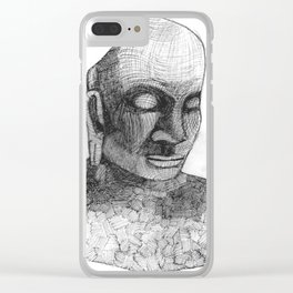Fragments of Peace Clear iPhone Case