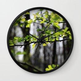 Waldlichter Wall Clock