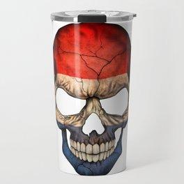 Exclusive Netherlands skull design Travel Mug