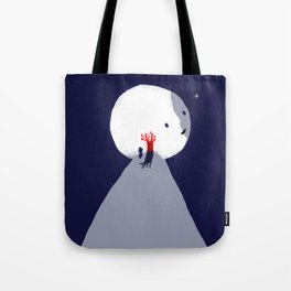 Red Tree Tote Bag