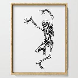 Dancing Skeleton | Day of the Dead | Dia de los Muertos | Skulls and Skeletons | Serving Tray