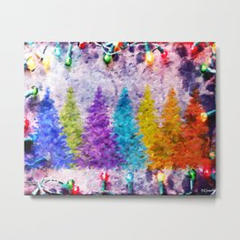 CHRISTMAS  EVERYWHERE Metal Print