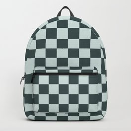 Checkerboard Pattern Inspired By Night Watch PPG1145-7 & Cave Pearl PPG1145-3 Backpack
