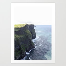 The Cliffs of Moher Art Print