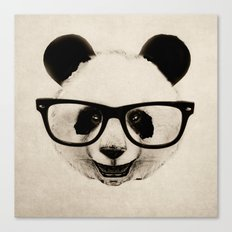 Panda Head Too Canvas Print