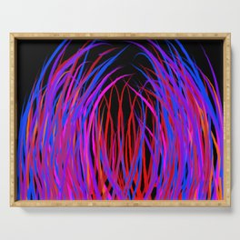 strands of color Serving Tray